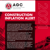 AGC: The construction industry is in the midst of a period of exceptionally steep and fast-rising costs for a variety of materials